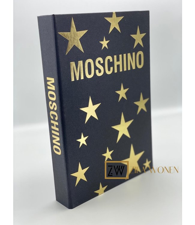 ZilaWonen Fashion book box Moschino black