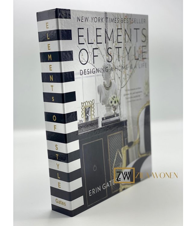 ZilaWonen Fashion book box Elements Of Style