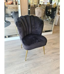 shell chair amor black