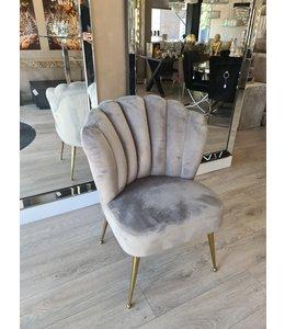 shell chair amor grey