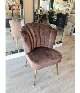 shell chair amor brown