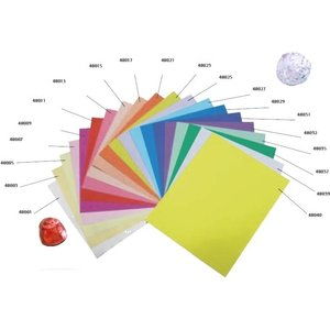 1 kilo gekleurd staniolfolie op maat