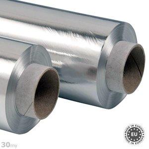 Zelfklevende aluminiumfolie 30my, 100cmx50m