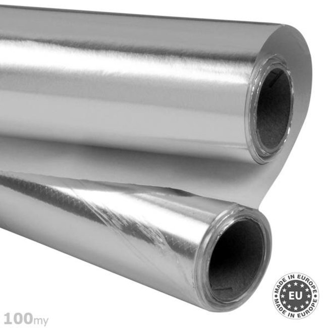 Selbstklebende Aluminiumfolie 100my, 50cmx5m
