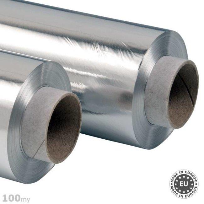 Selbstklebende Aluminiumfolie 100my, 100cmx50m