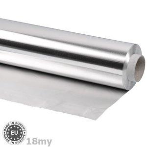 Navulrol aluminiumfolie 18my dik, 60cmx100m