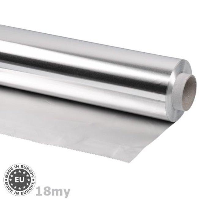 Navulrol aluminiumfolie 0,018mmx600mmx100m