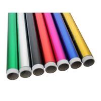 Gekleurde Decor/etalage aluminiumfolie 20my, 100cmx10m