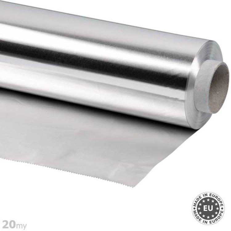 20my dik Aluminiumfolie, 45cmx50m