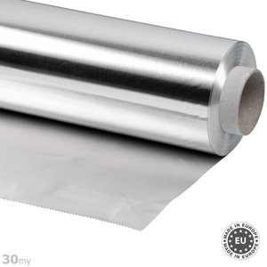 30my dicke Aluminiumfolie, 100cmx50m