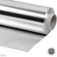 50my dik Aluminiumfolie 50cmx50m