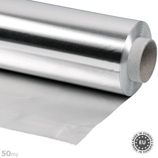 50my thick aluminium foil, 50cmx50m