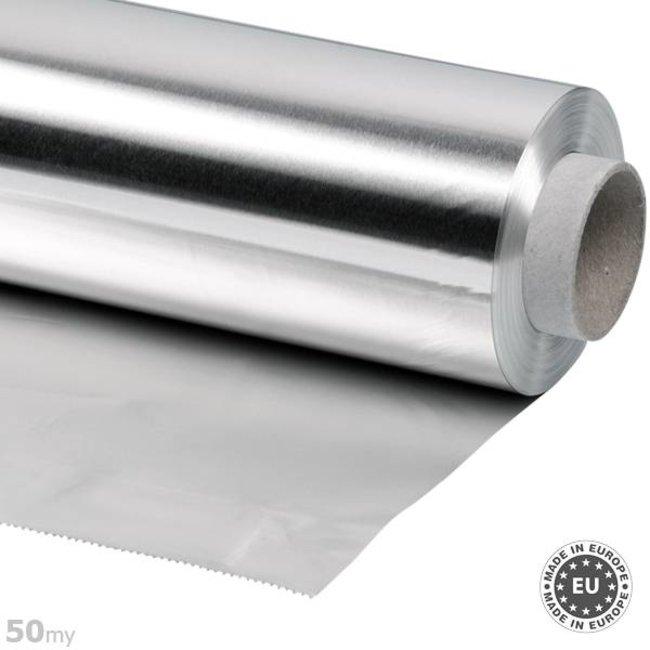 50my dik Aluminiumfolie, 50cmx50m