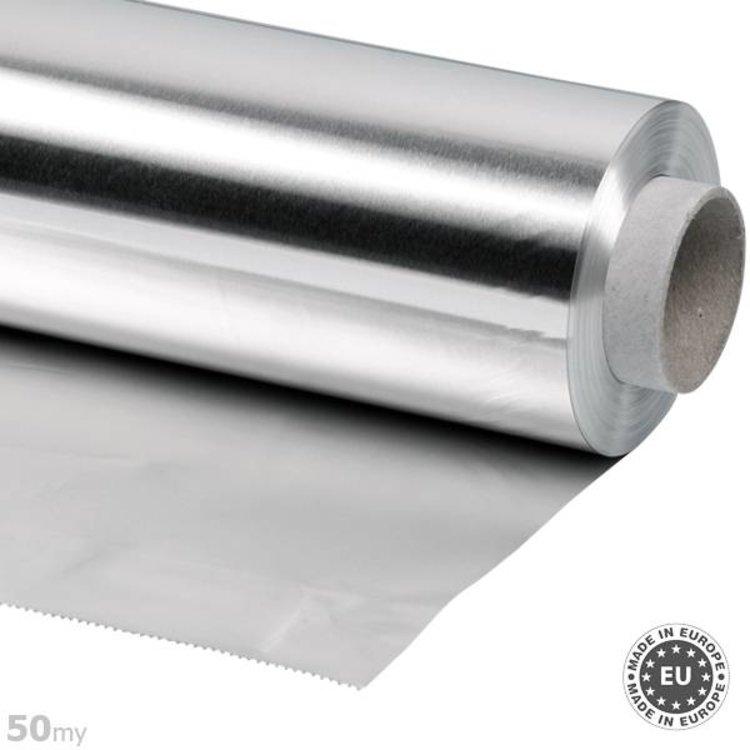 50my dik Aluminiumfolie, 100cmx50m