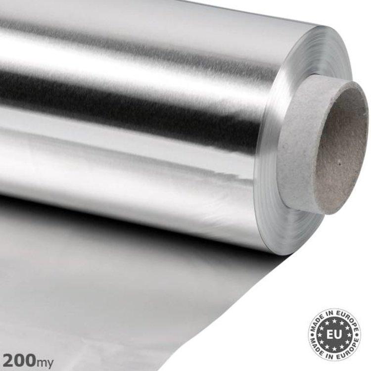 200my dik Aluminiumfolie, 125cmx50m