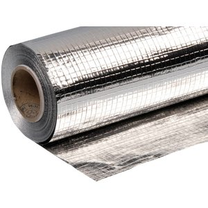 Glasvezelversterkt Dampscherm op basis van aluminiumfolie, 25 m²
