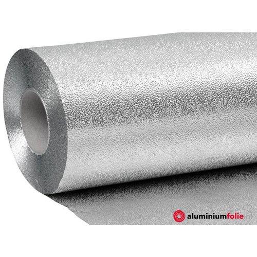 0.100 mm  dik aluminium dampscherm met korrel structuur.