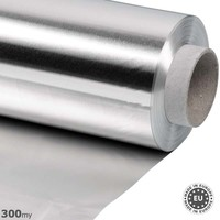 Aluminium band 300my dik 100cmx25m