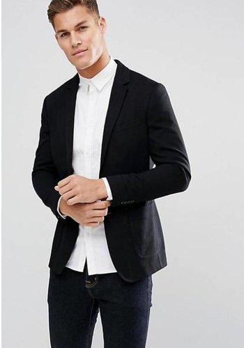 G-STAR RAW Geruite blouse zwart
