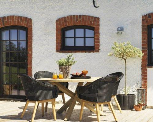 Beverly dining tuinstoel | Zwart
