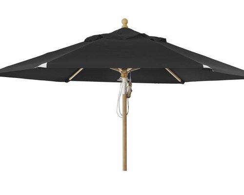 Parma parasol | 3.5m⌀ | Black