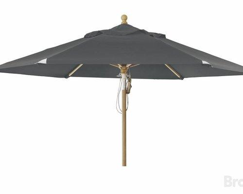 Parma parasol | 3.5m⌀ | Deep grey