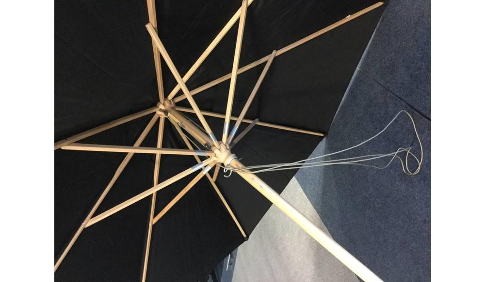 Parma parasol | 3.5m⌀ | Taupe