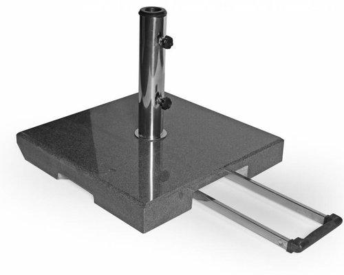 Mito parasolvoet | 50 kg | Zwart