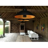 Heatsail Heater Dome pendel | Mat zwart