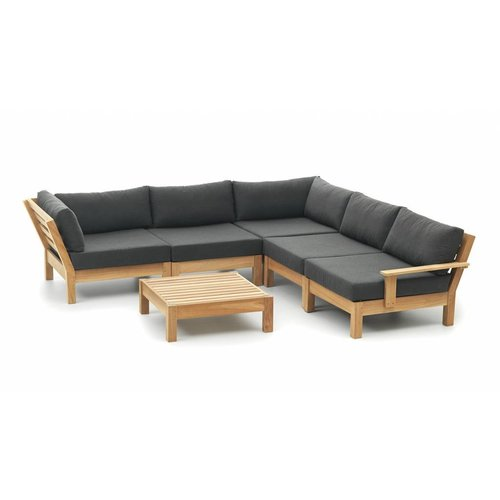 Wolfwood tuinmeubelen Coffee Bay Loungeset | Opstelling 5