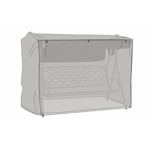 Brafab Beschermhoes grijs schommelstoel 205x130x160