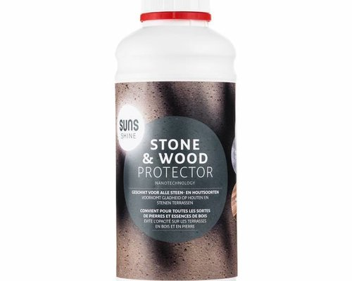 SUNS shine | Steen- en houtprotector| 1000 ML