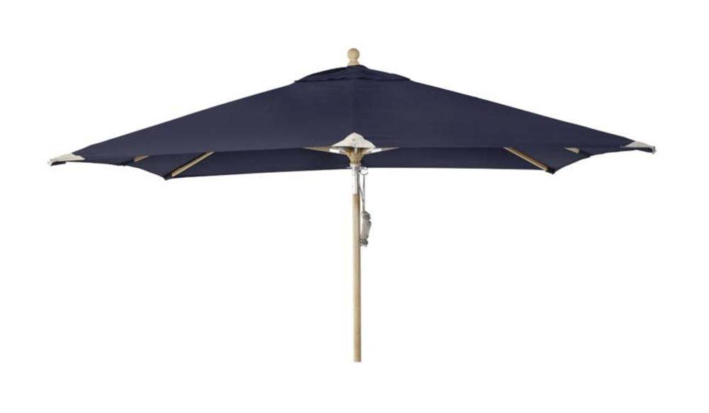 Parasol Como | 3m x 3m | Navy Blue