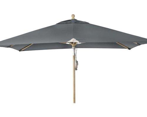 Parasol Como | 3m x 3m | Grey