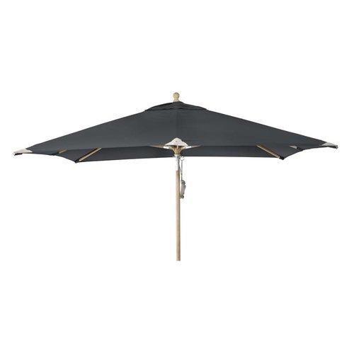 Brafab Parasol Como | 3m x 3m | Black