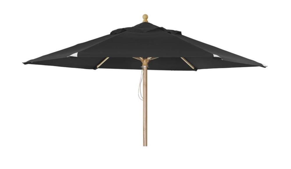 Parasol Reggio | ⌀3m | Black