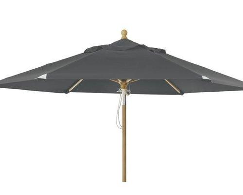 Parasol Trieste | ⌀2,5 m |  Grey