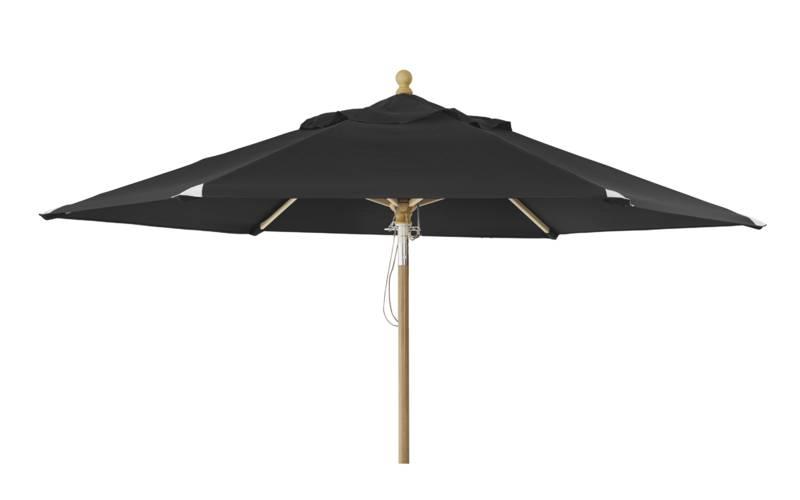 Brafab  Parasol Trieste   ?2,5 m   Black