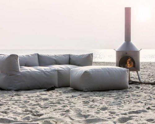 Bryck | Loungestoel | Grijs