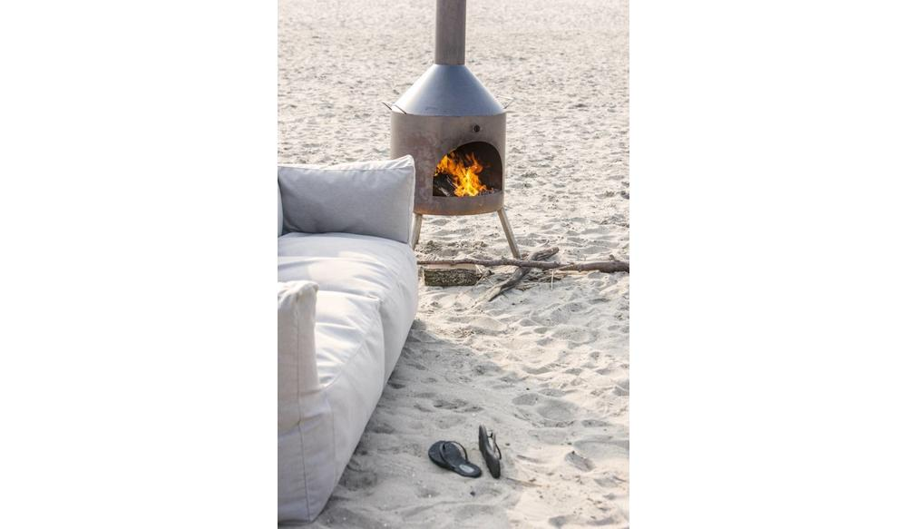 Bryck | Loungestoel | Lichtroze