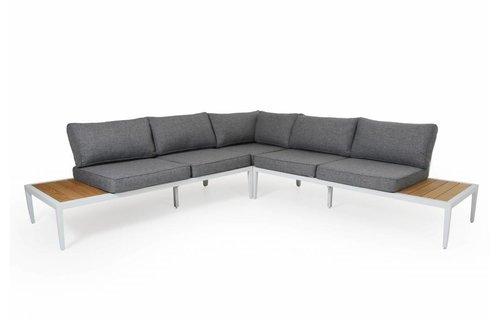 Brafab Whistler loungeset | Mat Wit | Opstelling 1