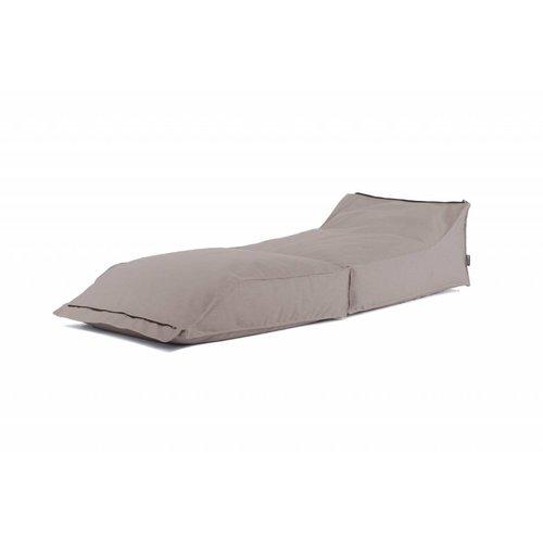 BRYCK Stretch ligbed | Donker roze