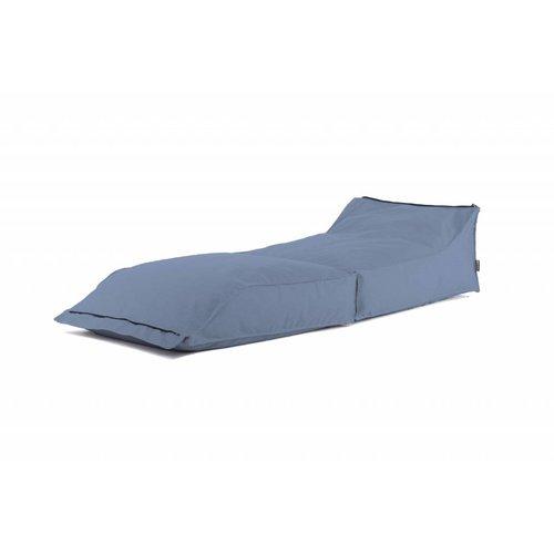 BRYCK Stretch ligbed | Spijkerblauw