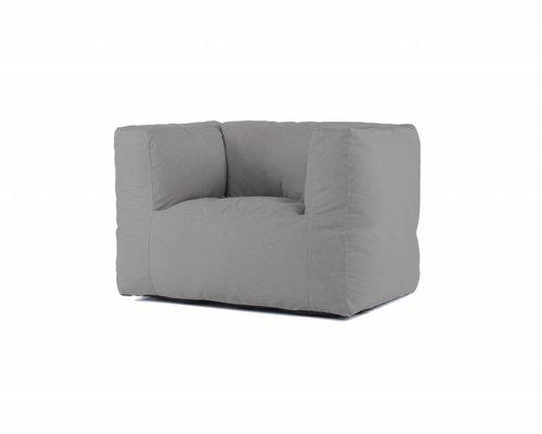Bryck | Loungestoel | Kleigrijs