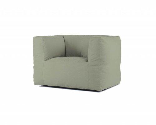 Bryck | Loungestoel | Mosgroen