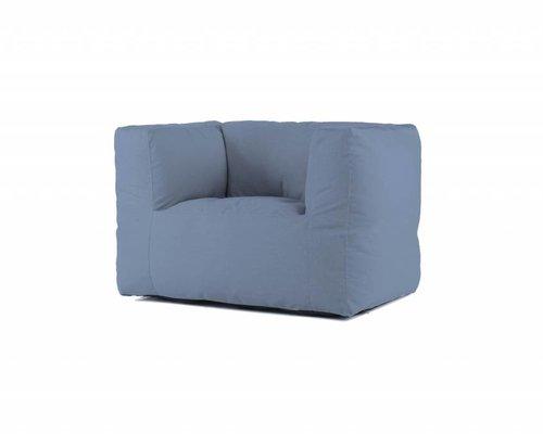 Bryck | Loungestoel | blauw