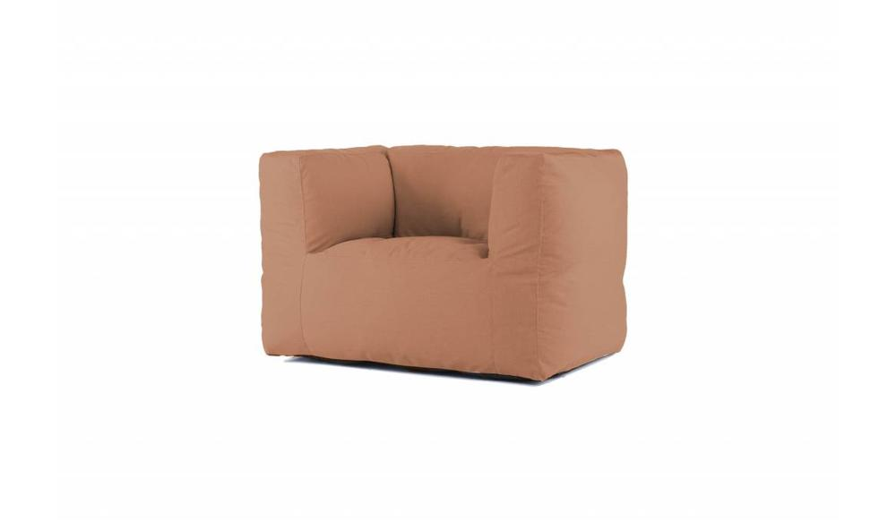 Bryck   Loungestoel   Oranjebruin