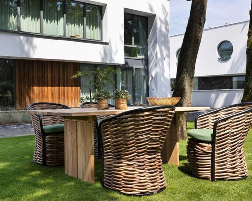 Cocoon dining tuinstoel
