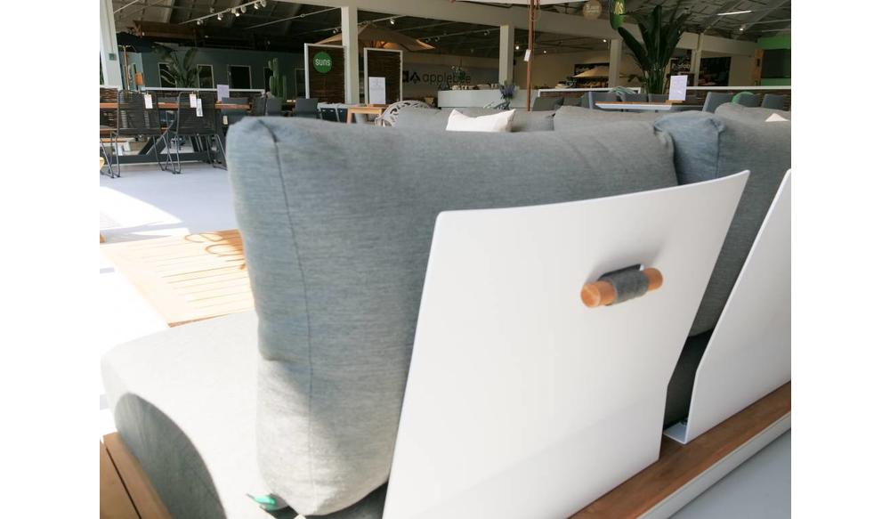 Loungestoel Java | Mat Royal Grey | Soft Grey