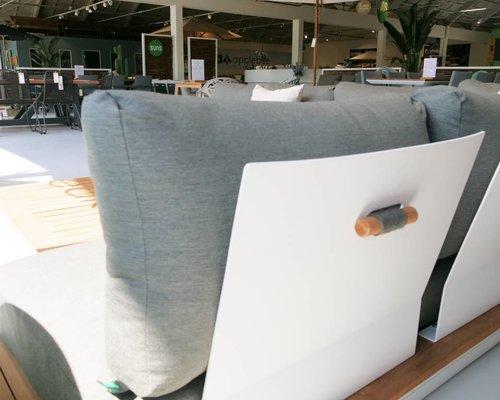 Loungestoel Java | Mat grijs